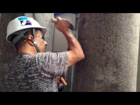 Restoring Granite with AKEMI