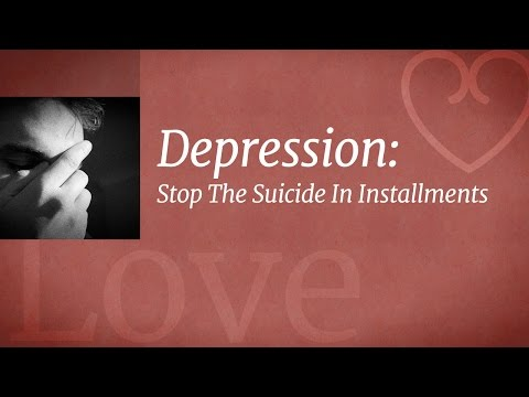Depression: Stop The Suicide In Installments | Sadhguru
