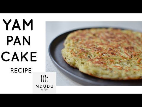 YAM PANCAKES OR HASH BROWN RECIPE (NDUDU BY FAFA's RECIPE)