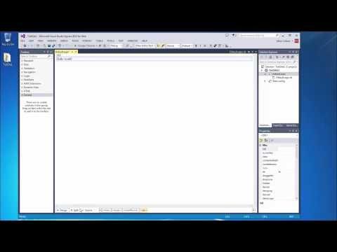 Microsoft Visual Studio Express 2013 For the Web - Basics