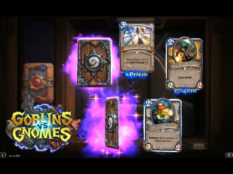Opening 30 Goblins vs Gnomes packs (Hearthstone new set expansion)