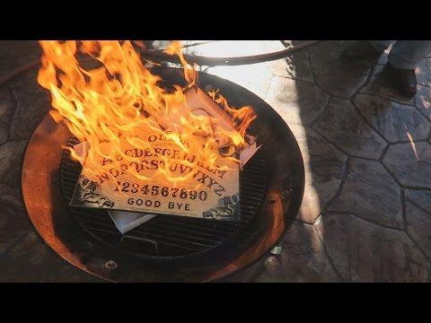 BURNING THE OUIJA BOARD!! | FaZe Rug