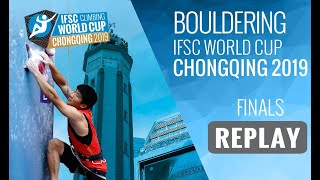 Download IFSC Climbing World Cup Chongqing 2019 - Bouldering Finals Video