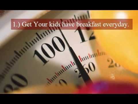 WHAT CAN BE DONE to Prevent Obesity in Child?