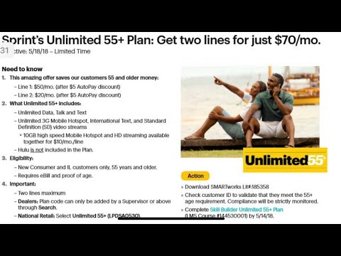 EXCLUSIVE INFO SPRINT 55+ PLAN takes aim at Consumer Cellular Older Senior Mobile Customers?