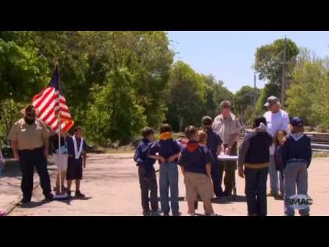 Stoughton's Memorial Day Flag Burning Ceremony (2015)