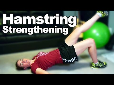Hamstring Strengthening Exercises & Stretches - Ask Doctor Jo