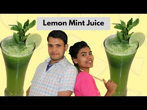 Lemon Mint Juice | Healthy Drink Lemon Mint for Weight Loss