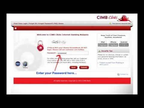 Online Direct Payment: CIMB to CIMB.wmv