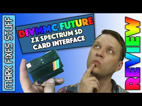Review - DivMMC Future - a new SD Card device for Sinclair Spectrum