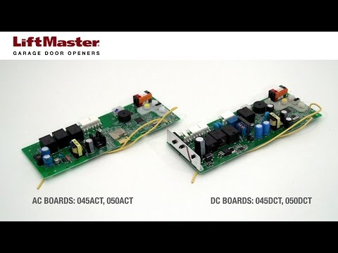 How to replace the Logic Board in a LiftMaster® garage door opener