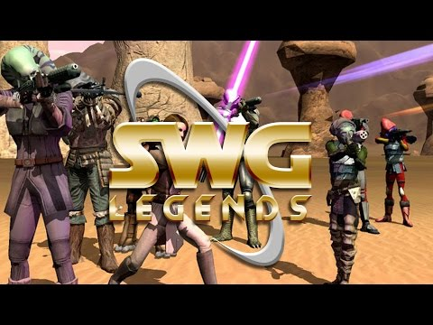 Star Wars Galaxies Legends - Character Creation  - Classic MMORPG