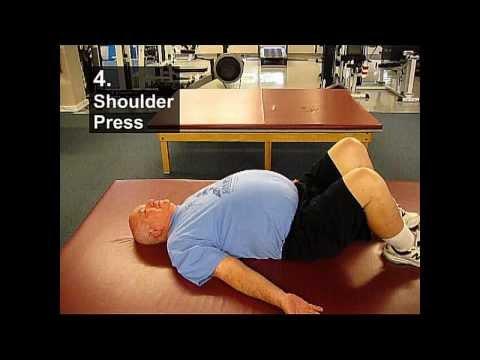 Fall Prevention Exercises (Posture Series) - Shoulder Presses