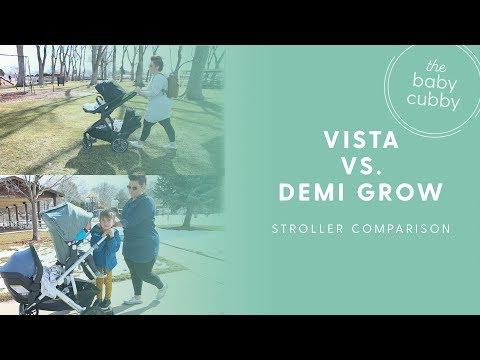 Nuna Demi Grow VS. UPPAbaby Vista   2018 Double Stroller Comparison