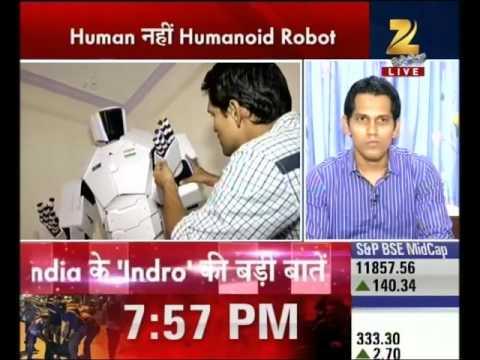 Mumbai : An engineer made humanoid robot