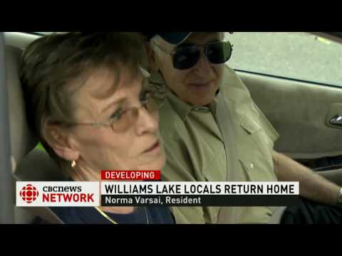CBC News Network: Evacuation order lifted for Williams Lake