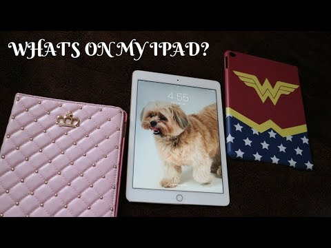 WHAT'S ON MY IPAD AIR 2 - 2018