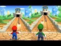 Mario Party 9 Step It Up Mario Vs Luigi Master Difficulty Gameplay Cartoons Mee