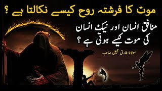 Mout Ka Farishta Rooh Kese Nikalta He ? | Marne K Bd Zindagi | Death Moments | Maulana Tariq Jameel