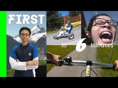 Grindelwald-First, Switzerland (Top Of Adventure) [summer] - Quick review