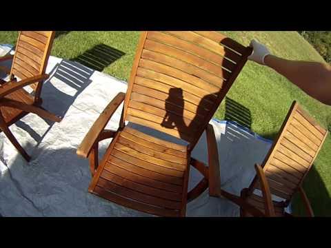 Teak Furniture Restoration