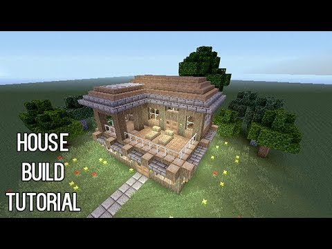 Minecraft: Best Creative House Build Tutorial in Minecraft (Xbox 360)