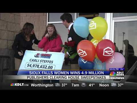 KDLT Covers PCHlotto PowerPrize Jackpot Winner