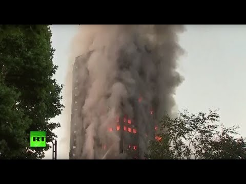 watch West London Grenfell Tower on fire, multiple casualties confirmed (Recorded LIVE FEED)