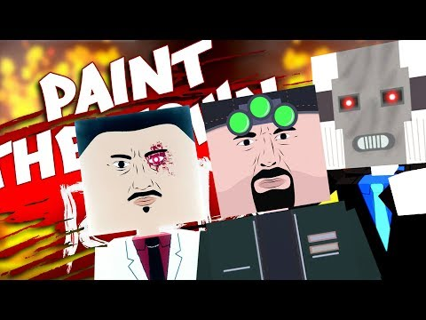 OH LOOK...NEW CHARACTERS?!! - Texture Pack MOD! - Paint The Town Red Gameplay