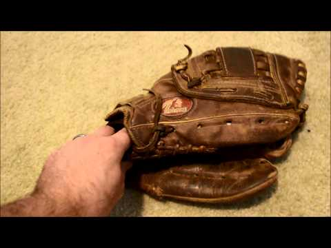 Nokona AMG 300K Baseball Glove Relace - Before and After Glove Repair