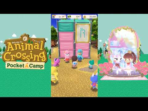 Animal Crossing: Pocket Camp - Maxing out the Tree Swing