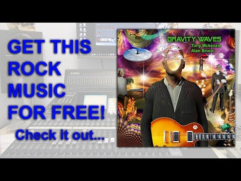 Rock Music Gravity Waves Music Album giveaway completely free limited numbers   tonymckenzie