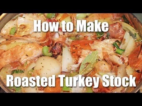 Turkey Stock Recipe - Step One to Awesome Gravy!