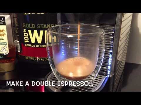 Espresso Proteini - Healthy Alcohol-Free Espresso Martini Protein Shake Recipe