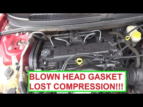 Blown Head Gasket Signs. Lost Compression. Demonstrated on Dodge Stratus