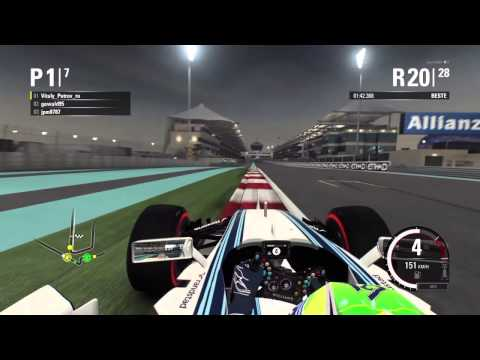 F1 2015 - NGF1-Unity: 1.Testrennen - Abu Dhabi (Part 2)