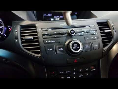 How to Enter Acura Honda Radio Code