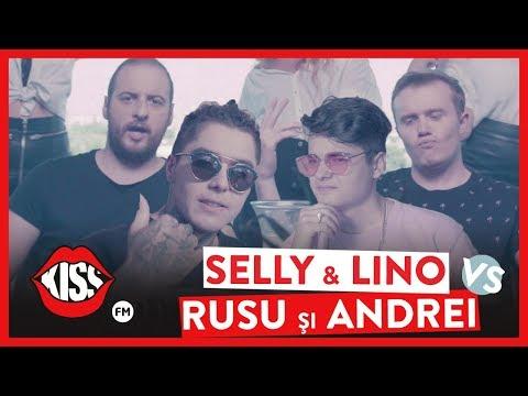 SELLY & LINO GOLDEN vs. ANDREI CIOBANU & IONUT RUSU - RAP BATTLE (Official Video)