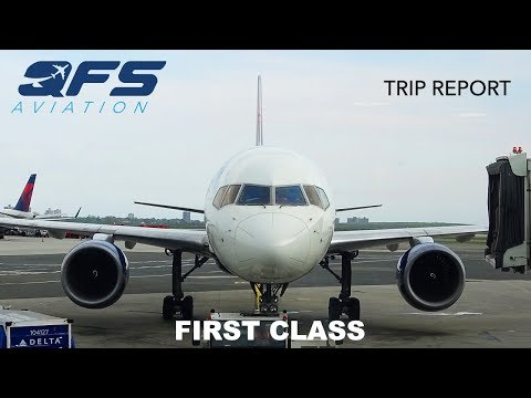 TRIP REPORT   Delta Airlines - 757 200 - New York (JFK) to Seattle (SEA)   First Class