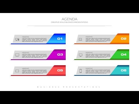 Learn To Create Business Agenda Presentation Slide in Microsoft Office 365 PowerPoint PPT