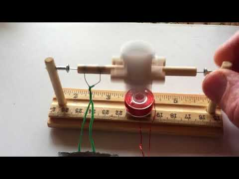 Simple Brushed Electric Motor