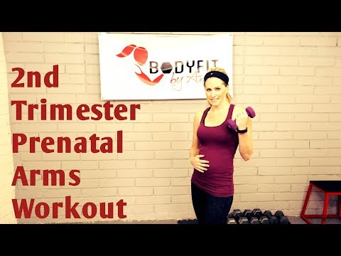 2nd Trimester Arms Prenatal Workout--But Good for All Trimesters!