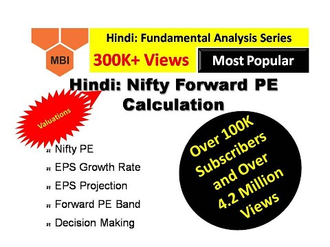 12. Hindi: Fundamental Analysis (Nifty Forward PE Calculation)