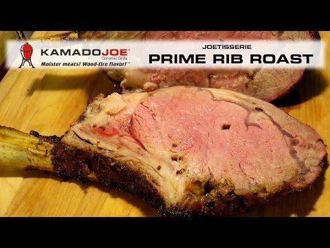 Kamado Joe JOTISSERIE - Prime Rib Roast