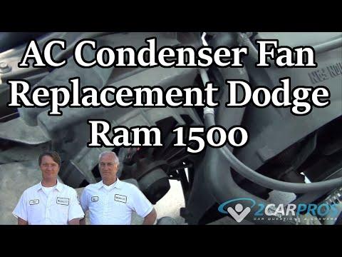 AC Condenser Fan Replacement Dodge Ram 1500 2001-2008
