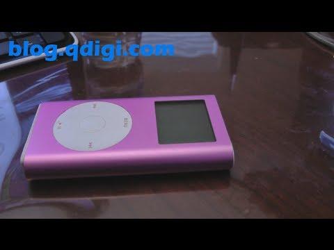 iPod Mini CF flash upgrade hard drive fix
