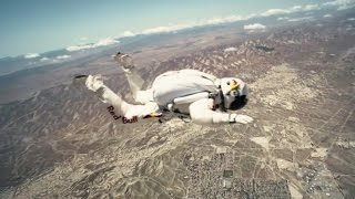 Flying at 100mph! - Red Bull Space Dive - BBC