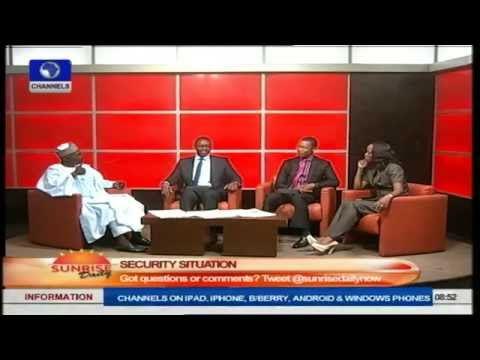 Nigeria Lacks Political Will To Fight Insecurity - Arewa Youth Leader. Pt2