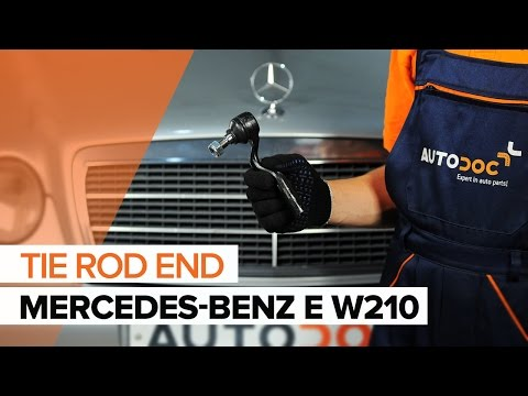 How to replace a Track Rod End on MERCEDES-BENZ E W210 TUTORIAL | AUTODOC