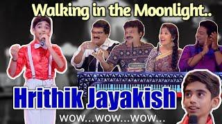 Walking in the moonlight | Hrithik Jayakish | Topsinger